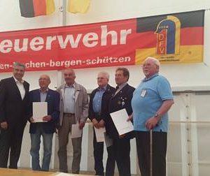 60 Jahre Freiwillige Feuerwehr Viermünden mit Dr. Daniela Sommer