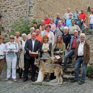 Sommertour 2017 Jugendburg Hessenstein