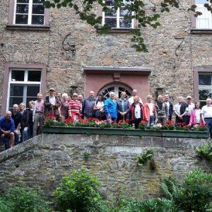 Sommertour 2017 Schloss Reckenberg