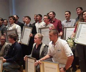 Meisterfeier Holzfachschule Bad Wildungen mit Dr. Daniela Sommer