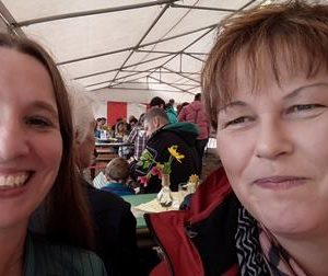 Feldtag in Frohnhausen mit Dr. Daniela Sommer