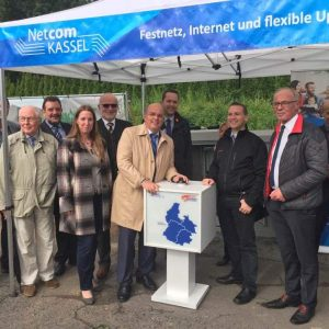 Eröffnung Breitband Netze mit Dr. Daniela Sommer