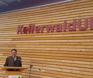 Eröffnung Informationszentrum KellerwaldUhr Frankenau