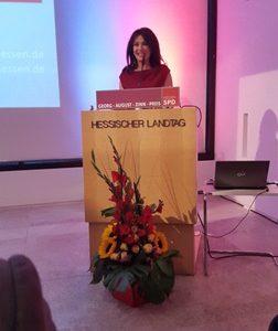 Georg-August-Zinn-Preis für Iris Berben