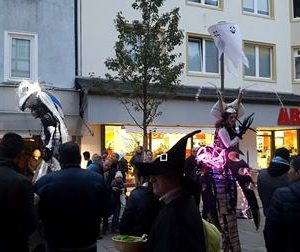 Halloween-Midnight-Shopping Frankenberg 2017 mit Dr. Daniela Sommer