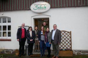 SPD Nordhessenrunde bei Bürgergenossenschaft Schule Dalwigksthal