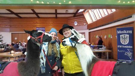 Weihnachtsmarkt Gemünden 2017 mit Dr. Daniela Sommer