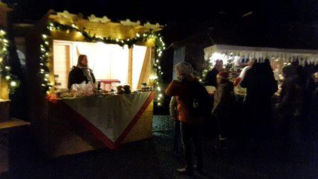 Adventsmarkt Klostergarten Frankenberg 2017 mit Dr. Daniela Sommer