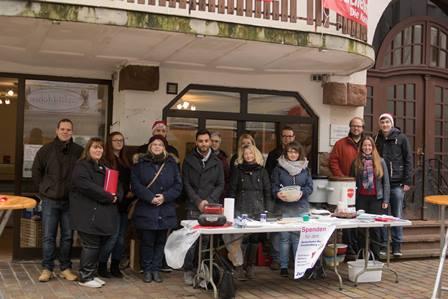 Spendensammlung für Ambulantes Hospiz Frankenberg mit Dr. Daniela Sommer