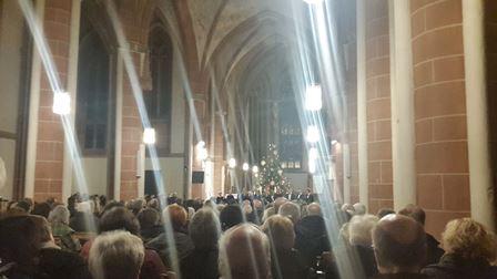 Weihnachtskonzert Liebfrauenkirche Frankenberg mit Dr. Daniela Sommer