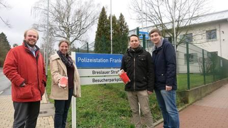 Aktion DANKE 2017 der SPD Frankenberg