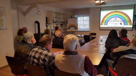 Besuchertag Wettermuseum Alte Schule Schreufa mit Dr. Daniela Sommer