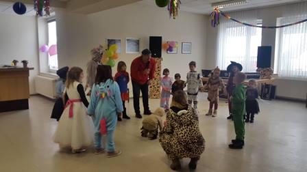 Kinderkarneval Schreufa 2018 mit Dr. Daniela Sommer